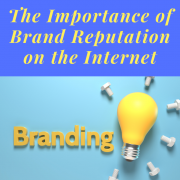 The Importance of Brand Reputation on the Internet