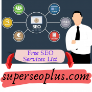 The best free seo services list
