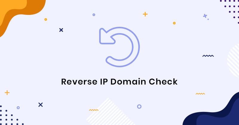 Reverse IP Domaine Checker