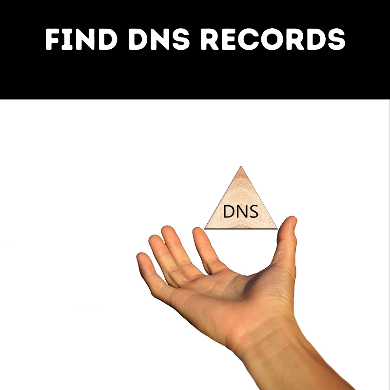 Find DNS records