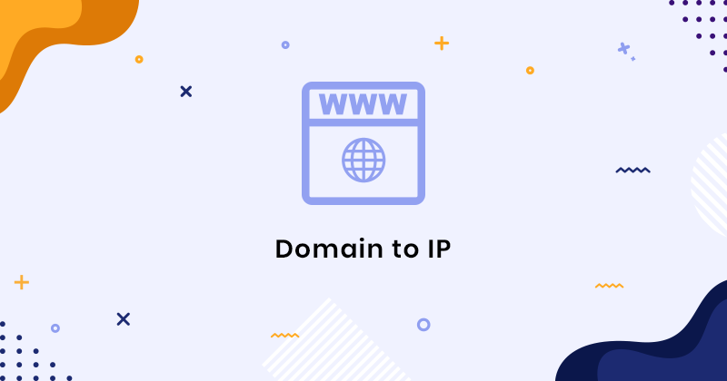 Domain to IP Address converter